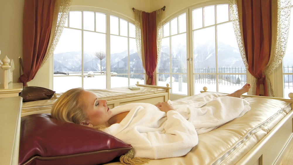 Wellness in Hotel Schalber in Serfaus